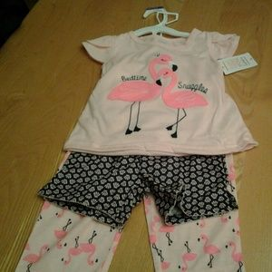 Carters Just one you 3 pc sleep set, 2T new